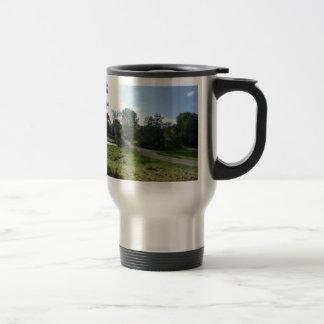 Haddon Hall Driveway Travel Mug