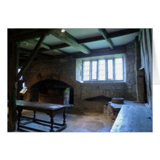 Haddon Hall Medieval Kitchen Card