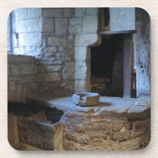 Haddon Hall Medieval Kitchen Coaster