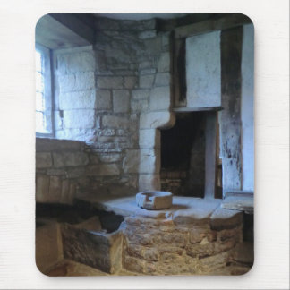 Haddon Hall Medieval Kitchen Mouse Pad