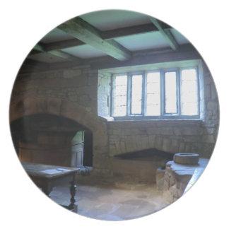 Haddon Hall Medieval Kitchen Plates