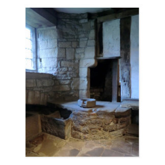 Haddon Hall Medieval Kitchen Post Card