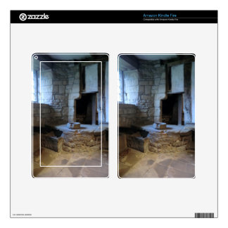 Haddon Hall Medieval Kitchen Decal For Kindle Fire
