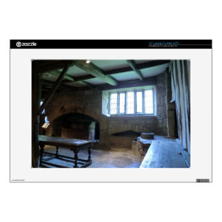 "Haddon Hall Medieval Kitchen Skin For 15"" Laptop"