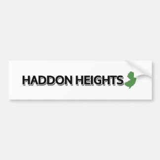 Haddon Heights, New Jersey Bumper Sticker