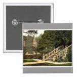 Haddon Pasillo, la terraza camina, Derbyshire, Eng Pins