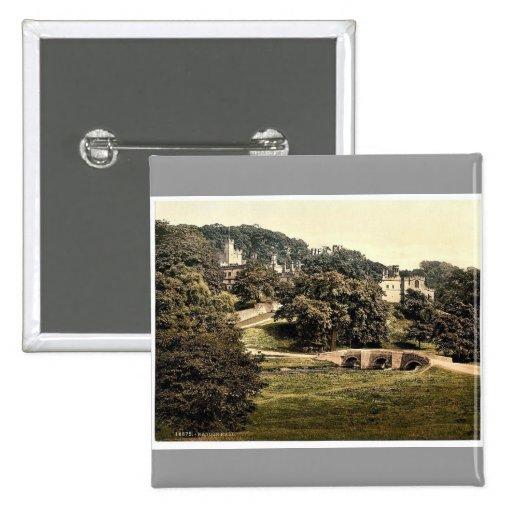 Haddon Pasillo, obra clásica Photochro de Derbyshi Pins
