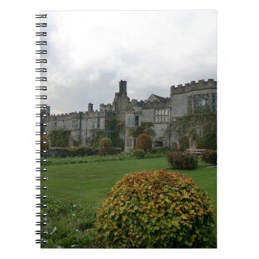 Haddon Pasillo y jardines Libro De Apuntes
