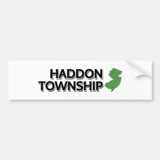 Haddon Township, New Jersey Bumper Sticker