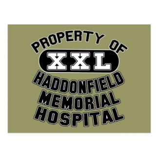 Haddonfield Memorial Hospital Products Postcard