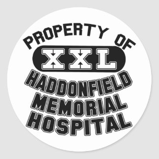 Haddonfield Memorial Hospital Products Classic Round Sticker