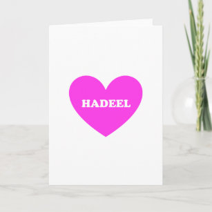 Love You Hadeel Gifts on Zazzle 85666e07490ca