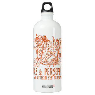 Hades and Persephone Aluminum Water Bottle