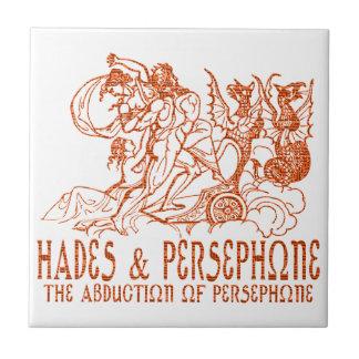 Hades and Persephone Ceramic Tile