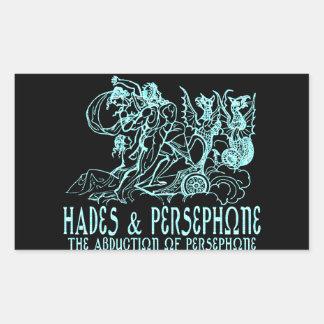 Hades and Persephone Rectangular Sticker
