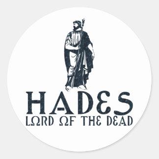 Hades Classic Round Sticker