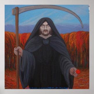 Hades en otoño póster