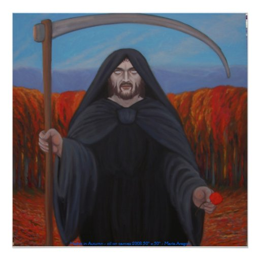 Hades en otoño posters