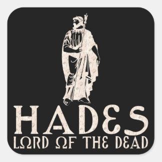 Hades Square Sticker
