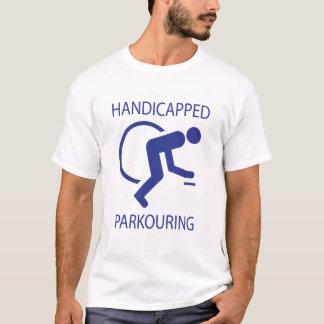 Hadicapped Parkouring Playera
