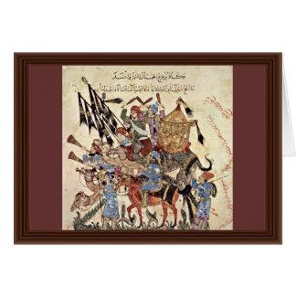 """Hadj (31. Maqamat) By Al-Wâsitâ Yahyâ Ibn Mahmã """" Cards"""