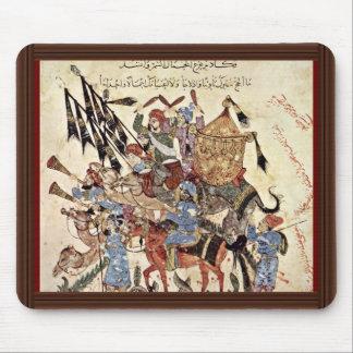 "Hadj (31. Maqamat) By Al-Wâsitâ Yahyâ Ibn Mahmã "" Mouse Pad"