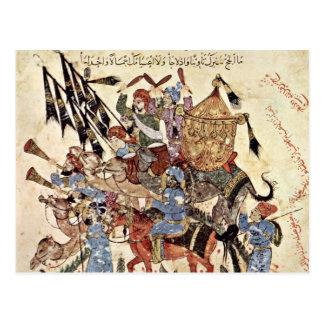 """Hadj (31. Maqamat) By Al-Wâsitâ Yahyâ Ibn Mahmã """" Post Cards"""