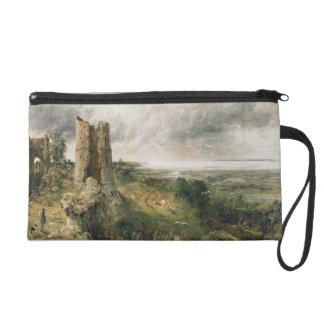 Hadleigh Castle 1829 oil on canvas Wristlet Clutch