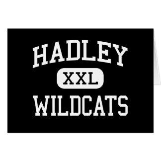 Hadley - gatos monteses - joven - Glen Ellyn Illin Felicitaciones