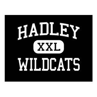 Hadley - gatos monteses - joven - Glen Ellyn Illin Tarjeta Postal