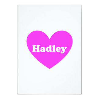 """Hadley Invitación 5"""" X 7"""""""