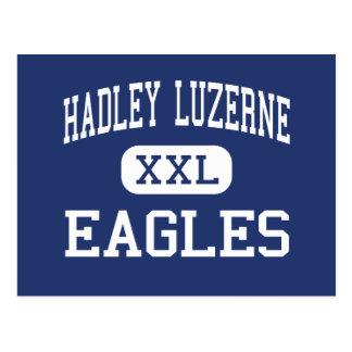 Hadley Luzerne - Eagles - alto - lago Luzerne Tarjetas Postales