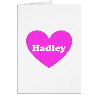 Hadley Tarjeta De Felicitación