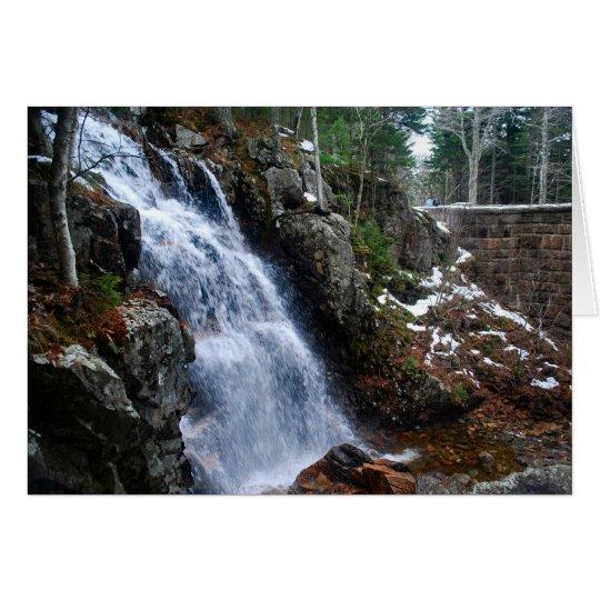 Hadlock Stream Falls Notecard - 4