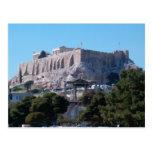 hadrian y acrópolis tarjetas postales