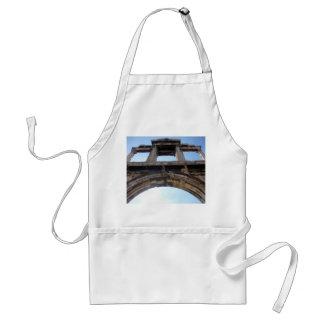 hadrian's arch adult apron