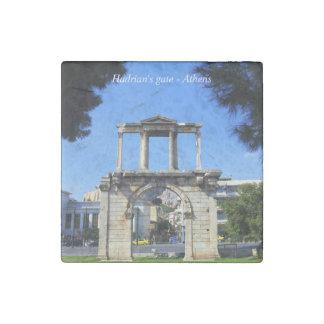 Hadrian's gate - Athens Stone Magnet