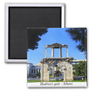 Hadrian's gate - Athens Refrigerator Magnets