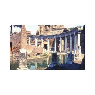 Hadrian's Villa Ruins Italy Canvas Print