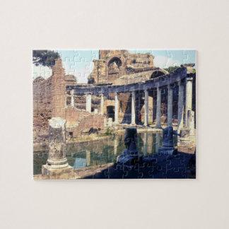 Hadrian's Villa Ruins Italy Puzzle