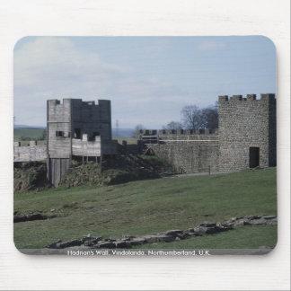 Hadrian's Wall, Vindolanda, Northumberland, U.K. Mousepads