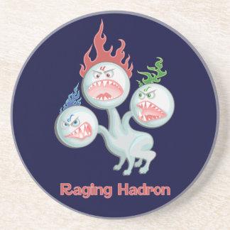 Hadron que rabia posavasos cerveza
