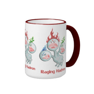 Hadron que rabia taza