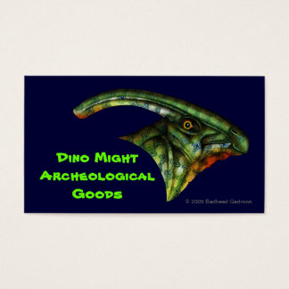 Hadrosaur Business Card