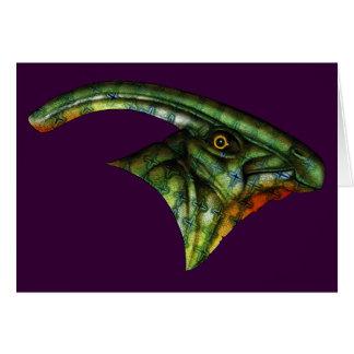 Hadrosaur Card