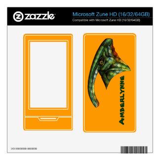 Hadrosaur Custom Skin for MS Zune HD Decal For Zune HD