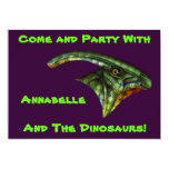 "Hadrosaur Invitations 5"" X 7"" Invitation Card"