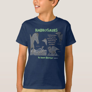 Hadrosaur My Inner Dinosaur Kid Shirt Gregory Paul