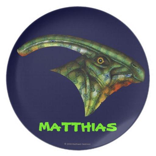 Hadrosaur Plate