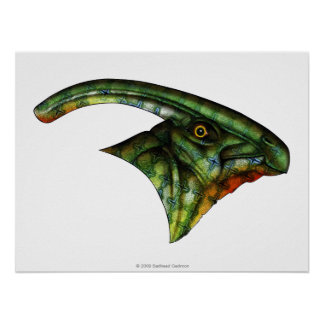 Hadrosaur Poster